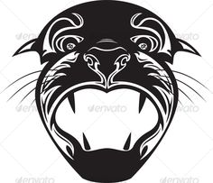 Head of tiger - #Animals #Illustrations Download here:  https://graphicriver.net/item/head-of-tiger/64296?ref=alena994