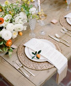 borrowed BLU//tabletop rentals for this Fashion to Table shoot