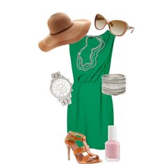 Kelly Green, created by lfmackinnon on Polyvore