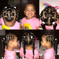 You are in the right place about children hair styles Here we offer you the most beautiful pictures about the … Mixed Kids Hairstyles, Toddler Braided Hairstyles, Natural Hairstyles For Kids, Baby Girl Hairstyles, Short Hairstyles, Little Girl Ponytails, Girls Braids, Girl Hair Dos, Curly Hair Styles