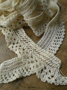 crocheted lace
