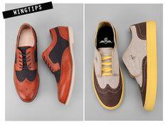 Modern Classics: Wingtips + Saddle Shoes