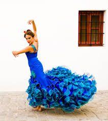 Znalezione obrazy dla zapytania batas de cola flamenco