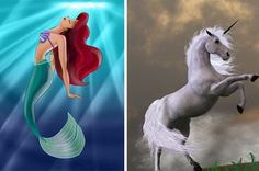 Which Mythical Creature Would You Be?  Take quizzes and chill with the BuzzFeed app.  Get the app  You got:You're a mermaid  You love to swim and your favorite color is blue. You're super friendly to everyone you meet and you're not afraid of anything.