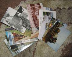 Železniční pohlednice - set 1