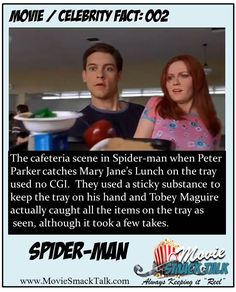 Movie / Celebrity Fact: 002 - Spiderman