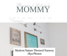 Beauty & Lifestyle Mommy Magazine Nursery Feature - Jacksonville Childrens Photographer