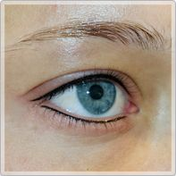 semi permanent ögonbryn