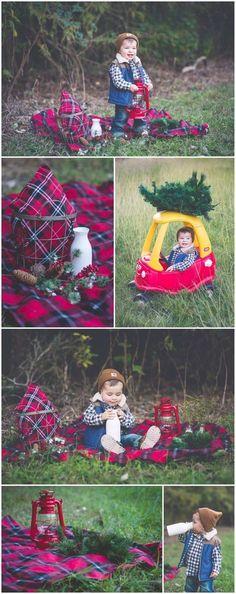 Lumberjack Christmas 2014   Laraina Hase Photography   Blog   Little Boy Christmas Pictures