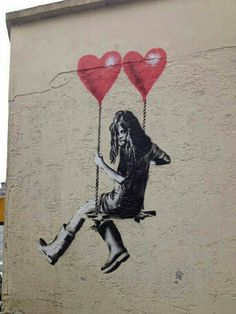 Where there's Love, there's Art. Here's a selection of street art and graffiti murals for lovers all around the world. All photos by courtesy of the artist and selected from social networks Street Art Love, Banksy, Art Photography, Photo Art, Public Art, Subject Of Art, Art, Graffiti Art, Kinder Art