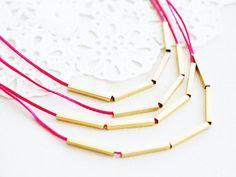 Morusia // FREE SHIPPING // Handmade Necklace  GoldFilled by EPUU, $32.00