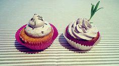 Himmlische Lavendel Cupcakes (von der Tassenkuchen - Bäckerei)