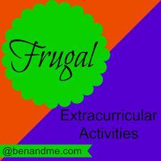 Frugal extracurricular activities. #homeschool