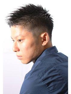 ディグズDigz hair【Digzhair:原宿】ナチュラルグラデーションモヒカン(遠藤)