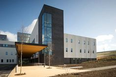 Built by Reiach And Hall Architects in Morpeth, United Kingdom with date 2006. Images by Reiach And Hall Architects. New Stobhill Hospital, designed by Reiach and Hall Architects for NHS Greater Glasgow and Clyde, represents the first...