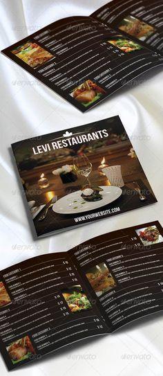 20 Stunning Premium Restaurant Menu Designs Templates