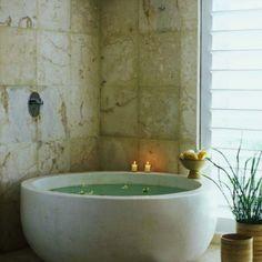 45 Magnificent concrete bathroom design inspirations! (Image Courtesy of James Baigrie)