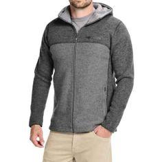 Ivanhoe of Sweden Alvar Sweater- Wool, Full Zip (For Men) in Grey - Closeouts