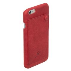 :: EBLOUIR :: Modern Snap Back(Red) #eblouir,#iphonecase, #phonecase, #iphone, #iphone6, #iphone6s, #plus  #leather, #style, #accessories, #best, #protective, #design, #mobile, #life