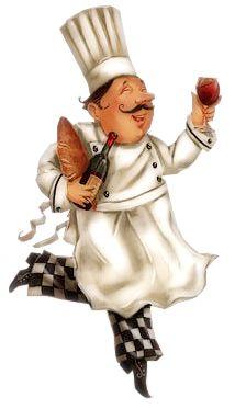 Food Illustrations, Illustration Art, Chef Pictures, Kitchen Clipart, Fat Chef Kitchen Decor, Cartoon Chef, Foto Transfer, Wine Art, Kitchen Wall Art