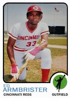 1973 Topps Baseball Card Update Series 1973 Cincinnati Reds