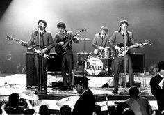 February 11, 1964. Debut concert, Washington Coliseum, Washington, DC.