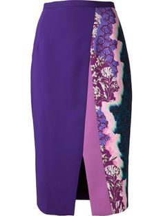 Shop Peter Pilotto 'Ria' pencil skirt in  from the world's best independent boutiques at farfetch.com. Shop 300 boutiques at one address.
