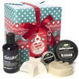 Ce cadeau contient cinq de nos produits les plus relaxants et luxuriants pour les mains, le corps et...