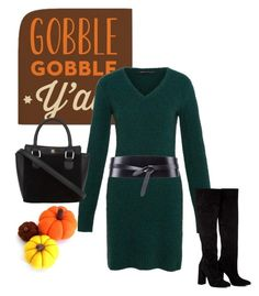 """""""Can you help me with Thanksgiving?"""" by brandonandrews500 ❤ liked on Polyvore featuring Marc by Marc Jacobs, Anouki and Isabel Marant"""