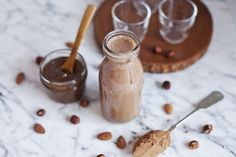 Rich Chocolate and Hazelnut Butter Smoothie | Prana