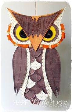 Happy Little Studio Paper Owl