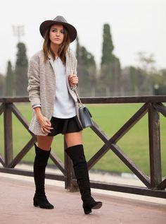 nr rapisardi stivali sopra il ginocchio #boots #overknee #overtheknee #stivali #stiefel #bottes #streetstyle #fashion #style