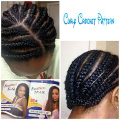 Hair Time Out: Crochet Braids (with Pre-twisted Hair) - VeePeeJay Curly Crochet Braids, Crochet Braid Styles, Crochet Braids Hairstyles, African Braids Hairstyles, Braided Hairstyles, Freetress Crochet Braids, Freetress Bohemian Braid, Kid Hairstyles, Black Hairstyles
