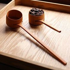 THE WOOD COLLECTOR | Wooden Coffee Scoop コーヒーメジャー  珈琲杓  サクラ #ヤマザクラ