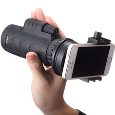 Universal 10X35 Mini Portable Monocular Telescope With Universal Holder For Smartphone