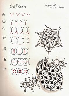 Poppie's Pen Pics ©: Bellamy - my new pattern
