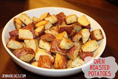 Jenna's Journey: Quick Oven Roasted Potatoes
