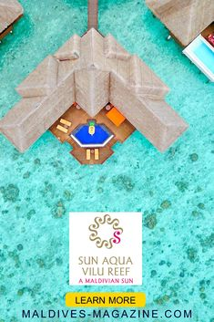 Sun Aqua Vilu Reef is superbly endowed with nature. Maldives Hotels, Visit Maldives, Architecture Drawing Plan, Polynesian Islands, New Wallpaper Iphone, Destin Beach, Travel Trip, Spas, Hotel Reviews