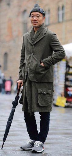 Urban Street Style, Men's Fall Winter Fashion.