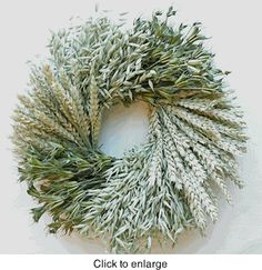 Great Plains Dried Wreath
