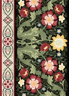 William Morris, just as nice in these colours