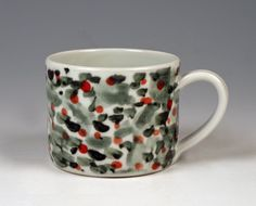 Painted Mug by Lin Xu