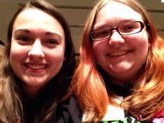 Natalie and I at Diva Day