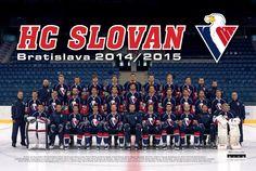 Tím HC SLOVAN 2014/2015