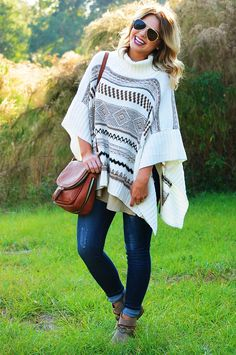 b49248019ec1 Colorado Skies Poncho  Multi  shophopes White Poncho