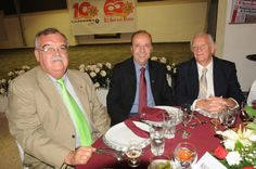 En el festejo del 65 aniversario: Don Carlos Martinez Inda, exdirector y colaborador de El Sol del Bajio con nuestros invitados.