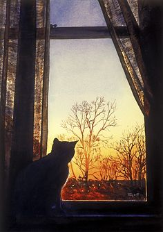 """Still Waters--Notes from a Virginia Shire: """"Vultures and Cats at Halloween"""""""