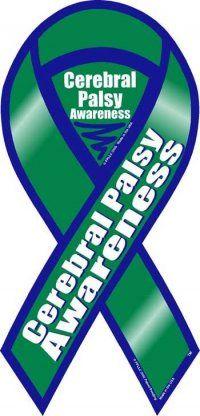 Cerebral Palsy Awareness Ribbon