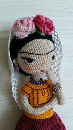 No automatic alt text available. Cute Crochet, Crochet Crafts, Crochet Projects, Knit Crochet, Knitted Dolls, Crochet Dolls, Amigurumi Doll, Amigurumi Patterns, Crochet Doll Pattern