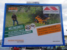 861. - Plakat in Stockach. / 29.05.2016./